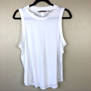 Fabletics White Tank Top